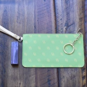 Dooney & Bourke Pouch with Wristlet/Keyring
